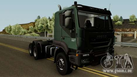 Iveco Trakker Cab Low 6x4 für GTA San Andreas Innenansicht