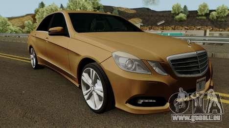 Mercedes-Benz E500 für GTA San Andreas Innenansicht