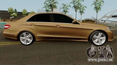 Mercedes-Benz E500 für GTA San Andreas Rückansicht