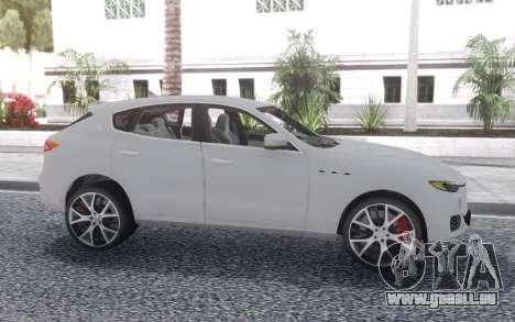 Maserati Levante pour GTA San Andreas vue de droite