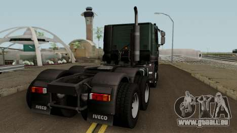 Iveco Trakker Cab Low 6x4 für GTA San Andreas rechten Ansicht