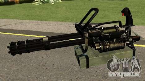 Minigun HQ (With HD Original Icon) pour GTA San Andreas