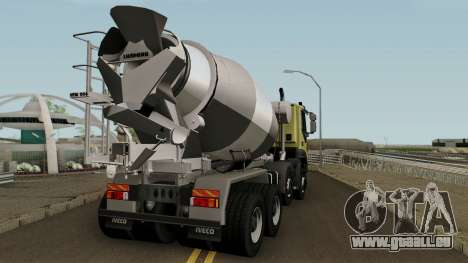 Iveco Trakker Cement 8x4 für GTA San Andreas rechten Ansicht