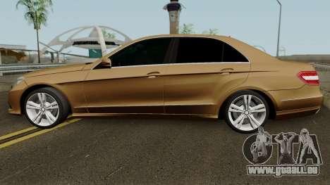 Mercedes-Benz E500 für GTA San Andreas linke Ansicht