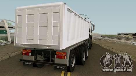 Iveco Trakker Dumper 10x4 für GTA San Andreas rechten Ansicht