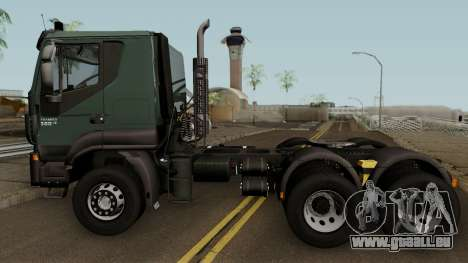 Iveco Trakker Cab Low 6x4 für GTA San Andreas linke Ansicht