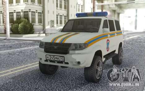 UAZ Patriot-MES für GTA San Andreas