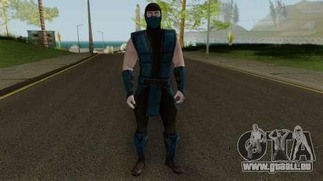 Klassic Sub-Zero MKXM pour GTA San Andreas deuxième écran