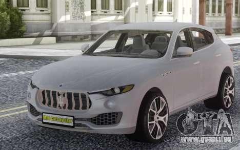 Maserati Levante pour GTA San Andreas