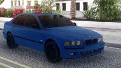 BMW M5 E39 Blue Sedan pour GTA San Andreas