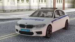 BMW M5 F90 Police pour GTA San Andreas