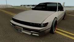 Nissan Silvia S13 For Low PC für GTA San Andreas