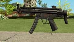 MP5 HQ (With HD Original Icon) für GTA San Andreas