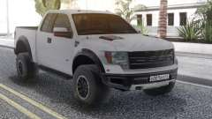 Ford Raptor White pour GTA San Andreas