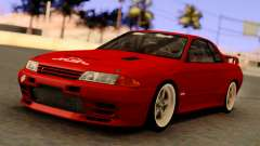 Nissan Skyline GT-R BNR32 TBK Red
