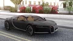 Bugatti Chiron Black für GTA San Andreas
