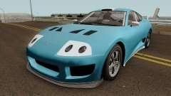 Dinka Jester Classic (r2) GTA V IVF pour GTA San Andreas