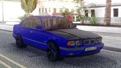 BMW M5 E34 Blue für GTA San Andreas