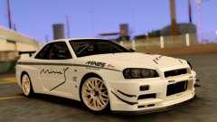 Nissan Skyline R34 Leks pour GTA San Andreas