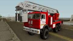 KamAZ-43114 AL-50 Kaliningrad pour GTA San Andreas