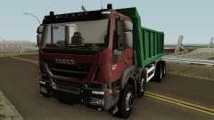 Iveco Trakker Dumper 8x4 für GTA San Andreas