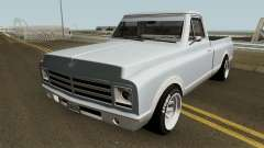 Chevrolet C-10 Custom Pickup Normal 1967 pour GTA San Andreas