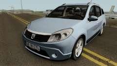 Dacia Sandero Grandtour pour GTA San Andreas