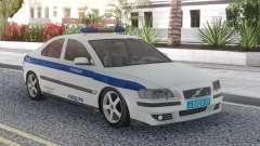 Volvo S60 Police für GTA San Andreas