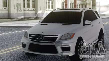 Mercedes-Benz ML63 White pour GTA San Andreas
