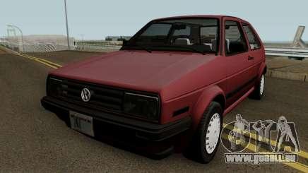 Volkswagen Golf Mk2 (US-Spec) für GTA San Andreas