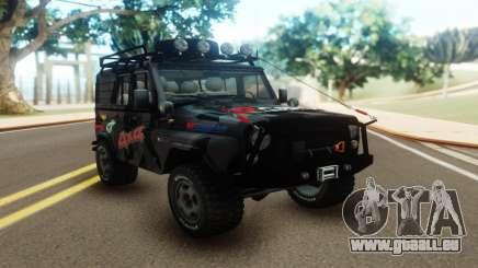 UAZ Hunter Offroad für GTA San Andreas