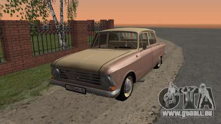 AZLK 408 Restyling 2018 pour GTA San Andreas