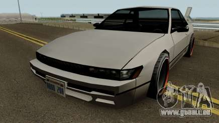 Nissan Silvia S13 For Low PC pour GTA San Andreas