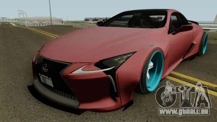 Lexus LC 500 Liberty Walk 2017 für GTA San Andreas