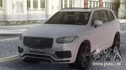 Volvo XC90 2018 White für GTA San Andreas