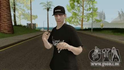 Skin GTA V Online (Normalmap) 2 für GTA San Andreas