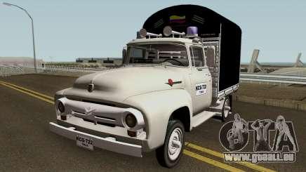 Ford F100 Con Estacas für GTA San Andreas