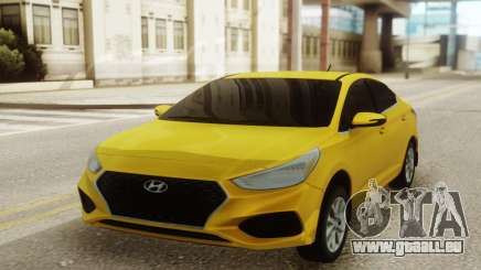 Hyundai Solaris Standard pour GTA San Andreas