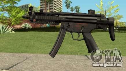MP5 HQ (With HD Original Icon) pour GTA San Andreas