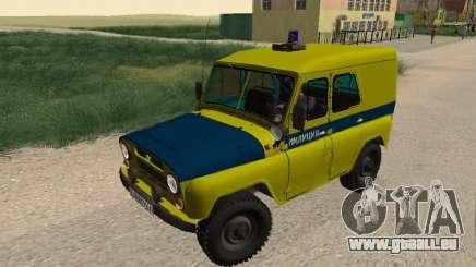UAZ 469 Police pour GTA San Andreas