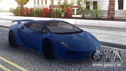Lamborghini Sesto Elemento Blue pour GTA San Andreas