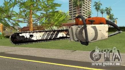 Chainsaw HQ (With HD Original Icon) für GTA San Andreas