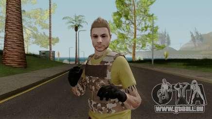 Skin GTA V Online (Normalmap) 4 pour GTA San Andreas