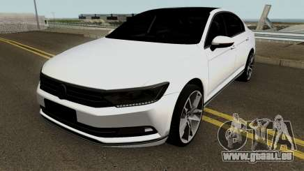 MEY Volkswagen Berline B8 Construction (Izmir auto) pour GTA San Andreas