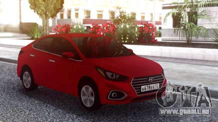 Hyundai Accent Solaris 2018 pour GTA San Andreas
