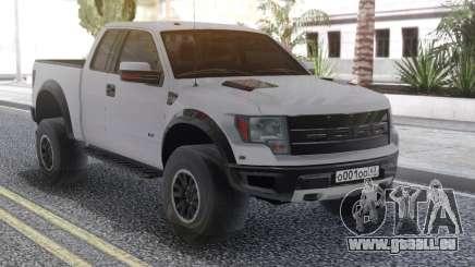 Ford Raptor White für GTA San Andreas