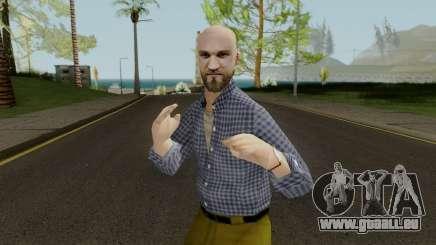 Bald Head Male pour GTA San Andreas