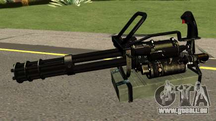 Minigun HQ (With HD Original Icon) pour GTA San Andreas