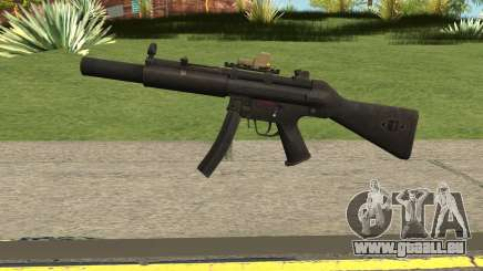 Silenced MP5 with Eotech pour GTA San Andreas
