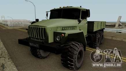 Ural 4320 Radmir RP pour GTA San Andreas